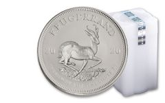 2020 South Africa 1-oz Silver Krugerrand BU – Roll of 25