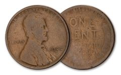 1922-D 1 CENT LINCOLN WHEAT VERY GOOD