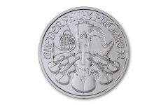 2020 Austria 1-oz Silver Philharmonic BU