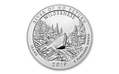 2019 5-oz Silver America the Beautiful – River of No Return BU