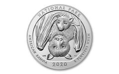 2020 America the Beautiful Quarter 5-oz Silver National Park of American Samoa BU