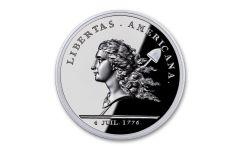 France 1-oz Silver Libertas Americana Medal