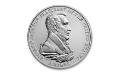 Andrew Jackson Presidential 1-oz Silver Medal Gem BU