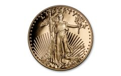 2020-W $25 1/2-oz Gold American Eagle Proof