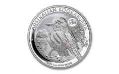 2019 Australia $1 1-oz Silver Beijing Panda Privy Marked Kookaburra Coin BU