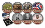 Battle of Gettysburg Cold Enamel 7-pc Collection