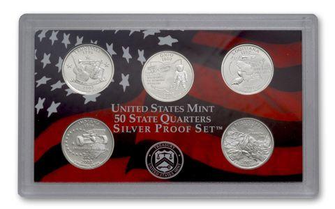 2002 S US Mint Proof Set OGP