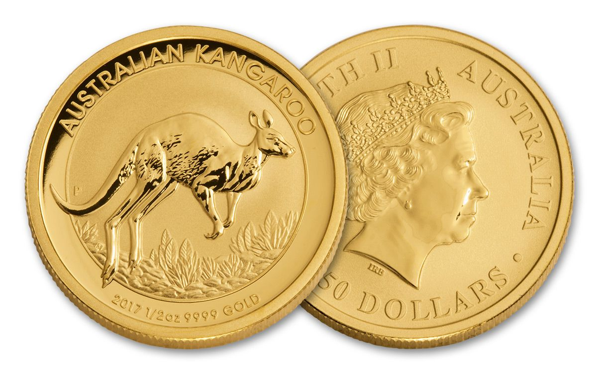 2017 Australian 50 Dollar 1 2 Oz Gold