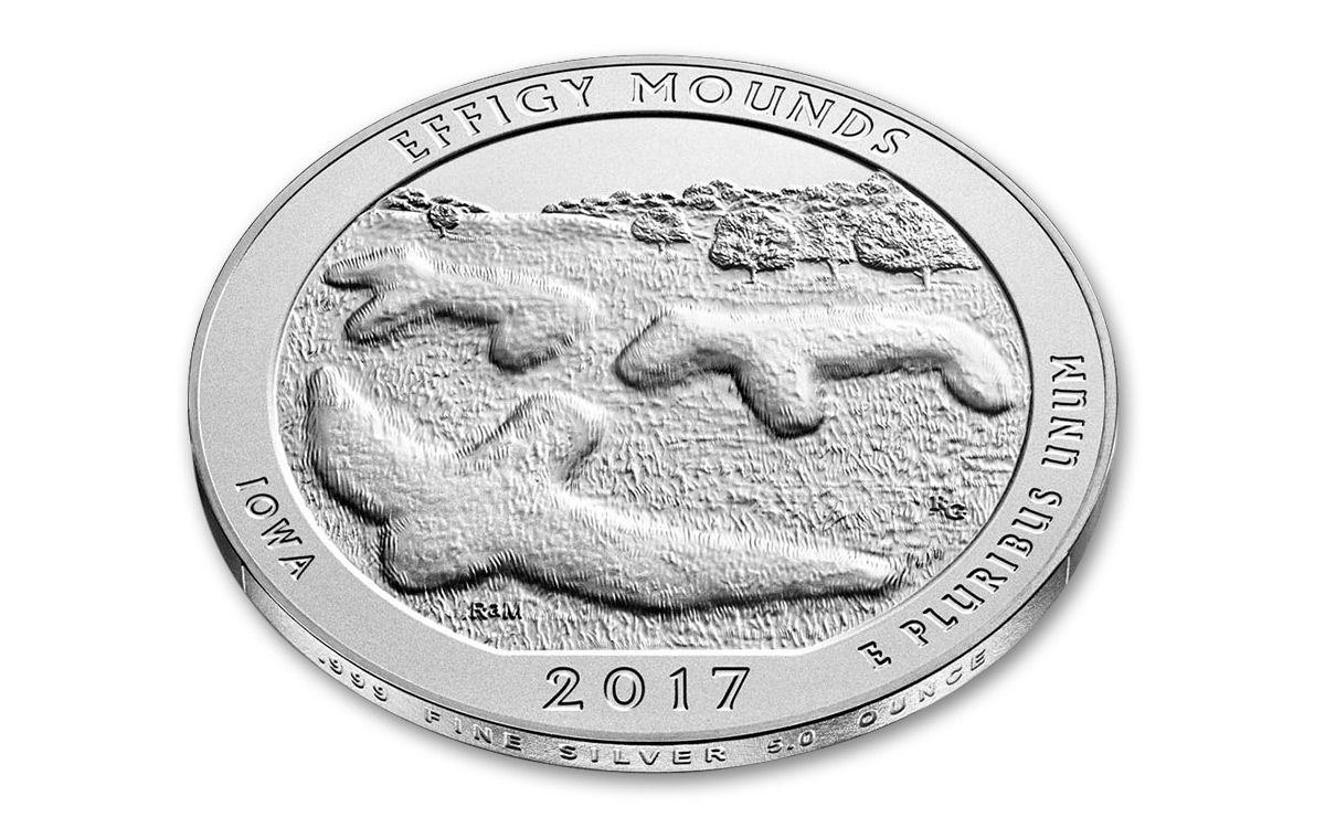 UNITED  STATES    25 Cents    2017  D    UNC   EFFIGY  *