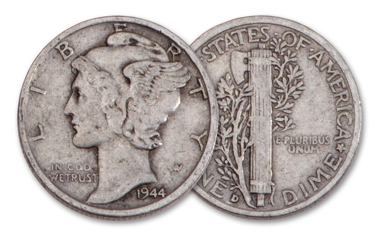 Cent 50 Cents World War Ii 5 Coin Set