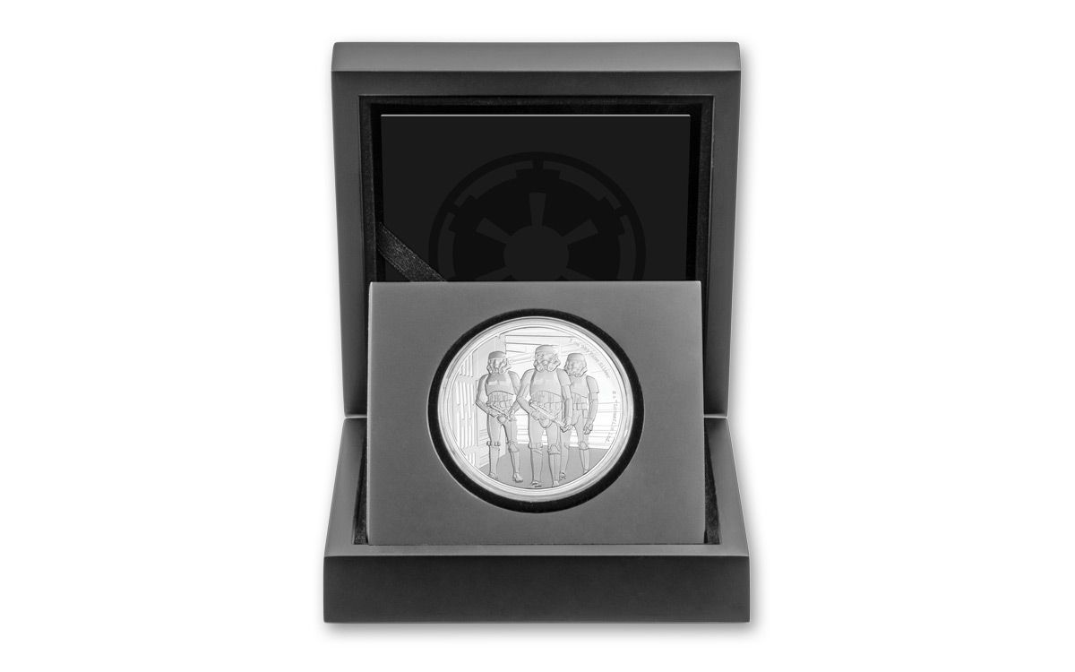 Stormtrooper 1oz Silver Coin IN HAND Chibi Coin Collection Star Wars™ Series