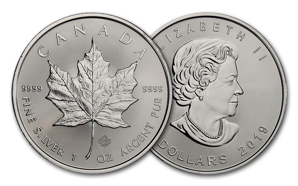 2019 Canada 1 Oz Silver Maple Leaf
