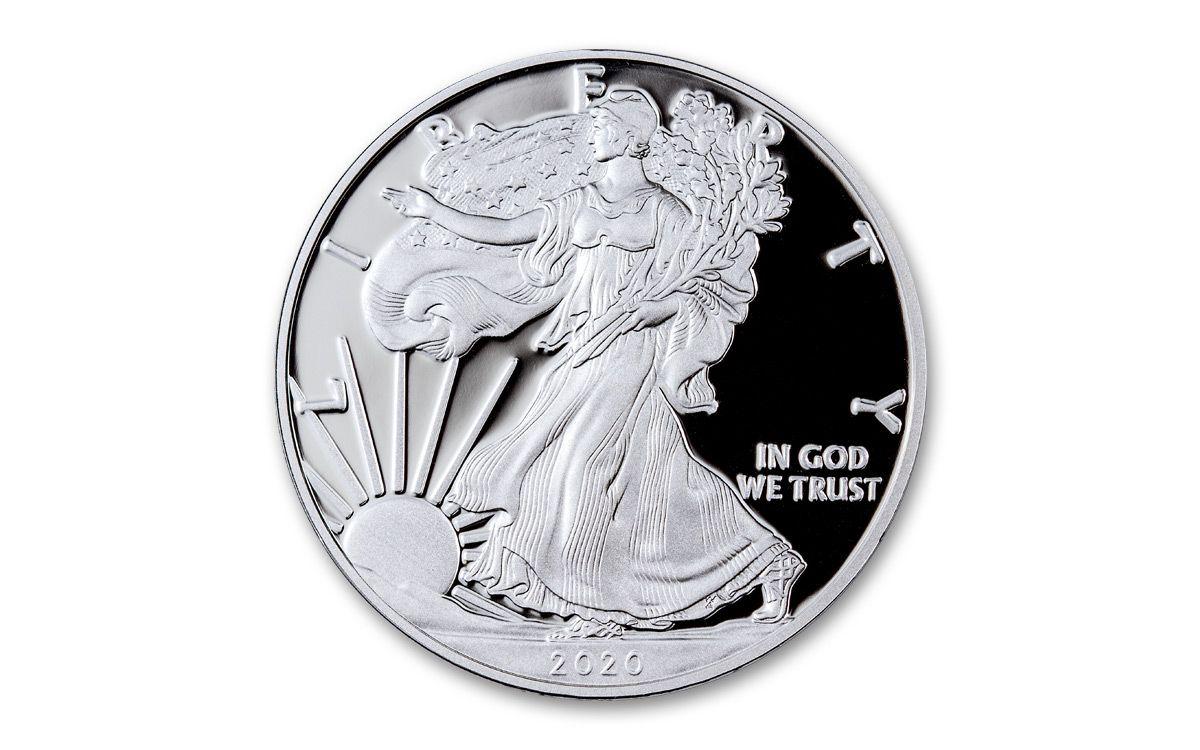 BU 2020 American Silver Eagle 1 oz $1