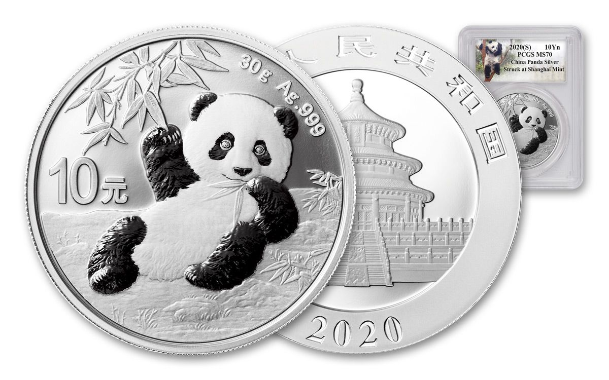 Shanghai Mint 3 China Lot of NO COIN Lockable 5 oz Silver Panda Capsules