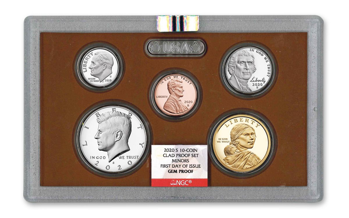 2020 HAPPY BIRTHDAY SET 5-Coin-Set Dime Half Penny Nickel Quarter NGC PF70
