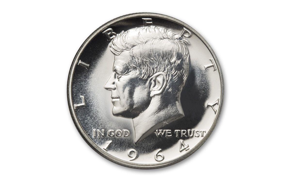 1964 P Silver Kennedy Half Dollar 50/¢ Proof