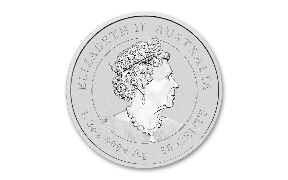 2020 Lunar Ox 2 oz BU Silver Coin