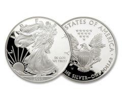 2005-W 1 Dollar 1-oz Silver Eagle Proof