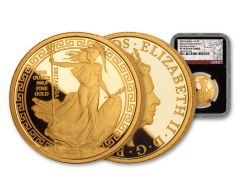 2018 Great Britain 1-oz Gold Oriental Britannia NGC PF70UC First Day of Issue