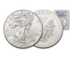 2019 $1 1-oz Silver American Eagle PCGS MS69 First Strike