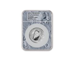 2019-P Apollo 11 50th Anniversary 5-oz Silver Dollar NGC PF70UC Early Releases - Moon Core with Mission Patch