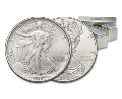 1986–2018 $1 1-oz Silver American Eagle 33-Piece Set NGC MS69 Complete Collection