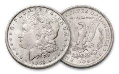 100 Year Old Morgan Silver Dollar BU