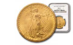 1907-1933 20 Dollar Gold Saint Gaudens NGC/PCGS MS62