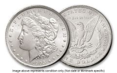 1882-O Morgan Silver Dollar BU