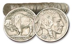 5 Cent Buffalo 1913-1938 40 Pieces