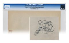 1933 Disney Original Drawing of Mickey Mouse
