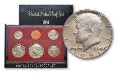 1981 United States Proof Set