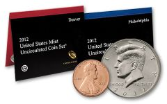 2012 United States Mint Set