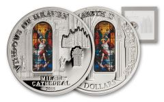 2013 Cook Islands 10 Dollar Windows of Heaven Milan Proof-Like