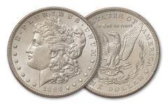 1886-P Morgan Silver Dollar BU
