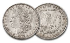 1878-P Morgan Silver Dollar XF