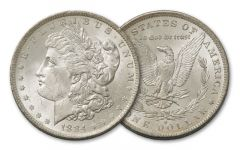 1884-O Morgan Silver Dollar BU
