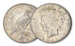 1927-D Peace Dollar XF
