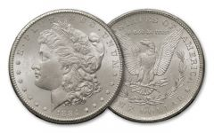 1884-CC Morgan Silver Dollar BU