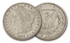1886-O Morgan Silver Dollar XF