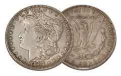 1887-P Morgan Silver Dollar XF