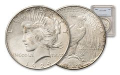 1924-P Peace Dollar NGC/PCGS MS64