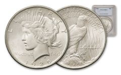 1925-P Peace Dollar NGC/PCGS MS64