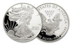 2001-W 1 Dollar 1-oz Silver Eagle Proof
