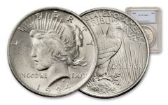 1924-P Peace Dollar PCGS MS64