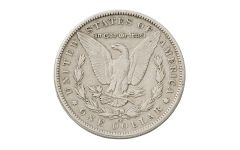 1890-CC Morgan Silver Dollar VF