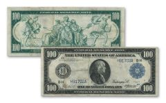 1914 $100 Federal Reserve Currency Note Fine
