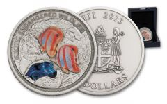 Fiji 2013 2-oz Silver Great Barrier Reef Antique
