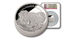 2014 Australia 5-oz Silver Koala First Struck NGC PF69UCAM