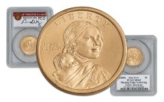 2010 Sacagawea Dollar Error PCGS MS65 Moy Signed